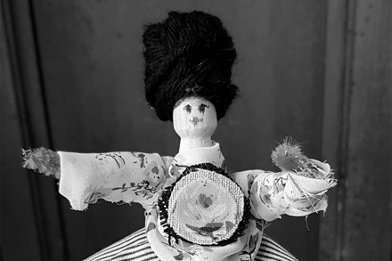 Cute peg doll.