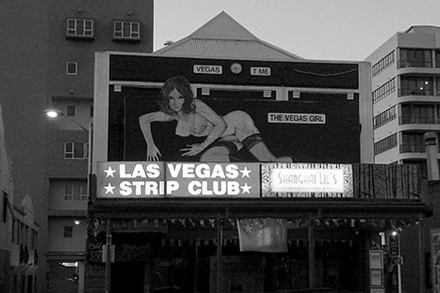 The Las Vegas strip club on K'Road