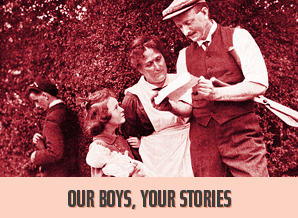Our Boys, your stories.