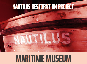 Nautilus Restoration Project open workshop.