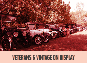 Veterans & Vintage on Display.